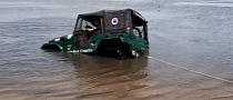 It's Simple - How Not to Pull Your Jeep Out of the Water [Video]