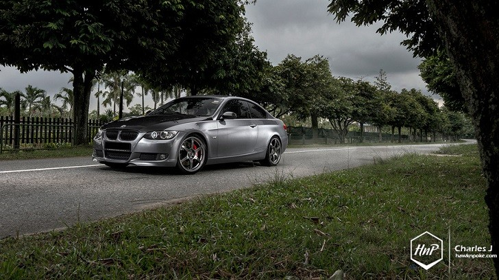 Singapore BMW E92 M3 Rides on Volk Wheels [Photo Gallery]