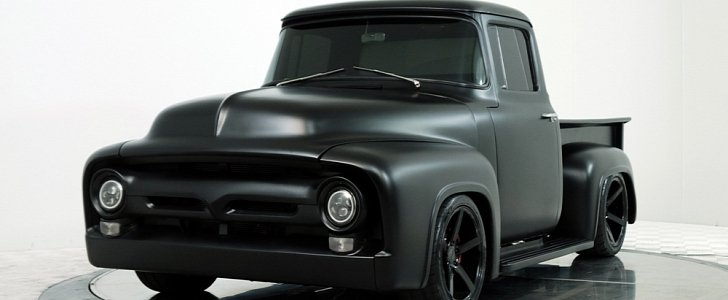 Sinister Ford F100 With Shelby Mustang GT350 Power Wants Your Soul
