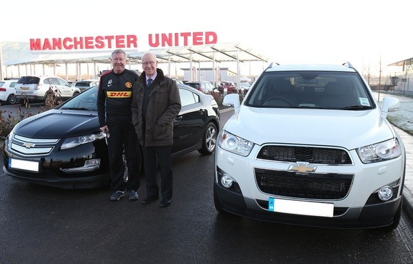Sir Alex Ferguson's Chevrolet Captiva Auctioned for Charity