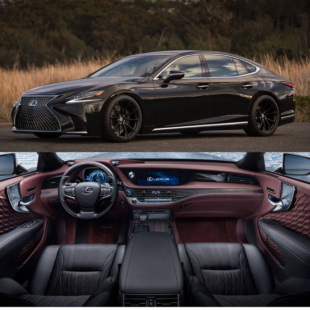 Six Big Luxury Sedans And Their Respective Interiors Make For