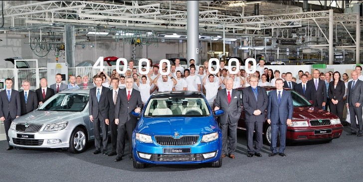 Skoda Announces Production of 4 Millionth Octavia