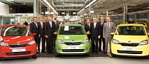 Skoda Begins Citigo Production