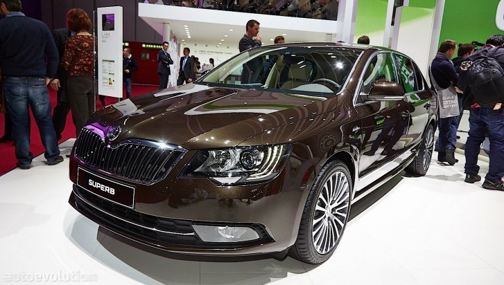 skoda brings luxury at geneva through laurin and klement editions live photos autoevolution. Black Bedroom Furniture Sets. Home Design Ideas