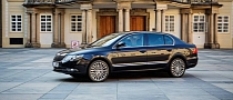 Skoda Builds a Special Superb Limo for Czech President