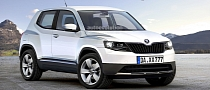 Skoda CitiSUV Rendering Released