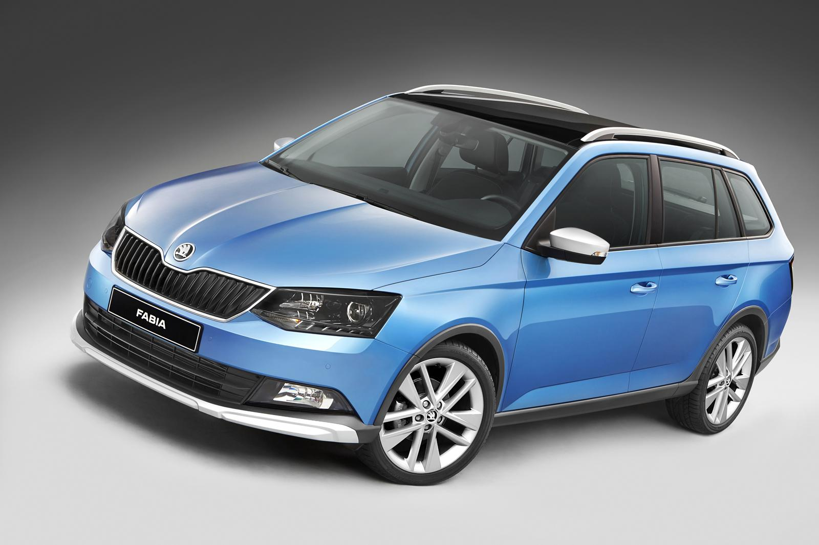 skoda fabia combi scout body kit debuts without awd or. Black Bedroom Furniture Sets. Home Design Ideas