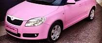 Skoda Fabia Gets Hello Kitty Pink Wrap [Video]