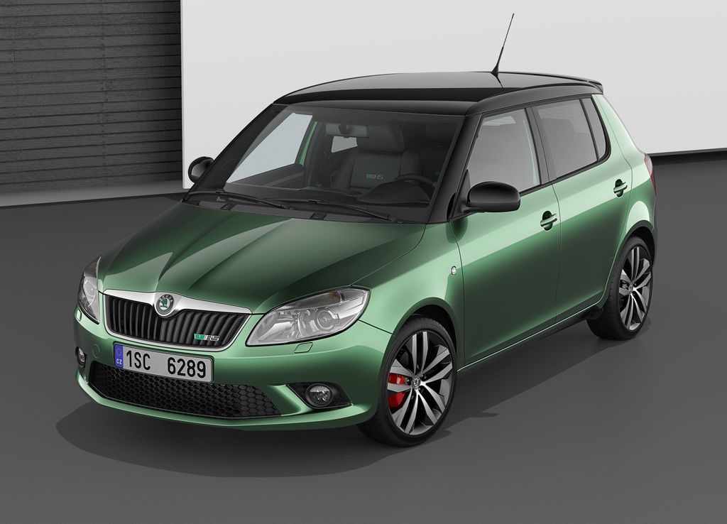 skoda fabia rs and greenline ii production debuts autoevolution. Black Bedroom Furniture Sets. Home Design Ideas