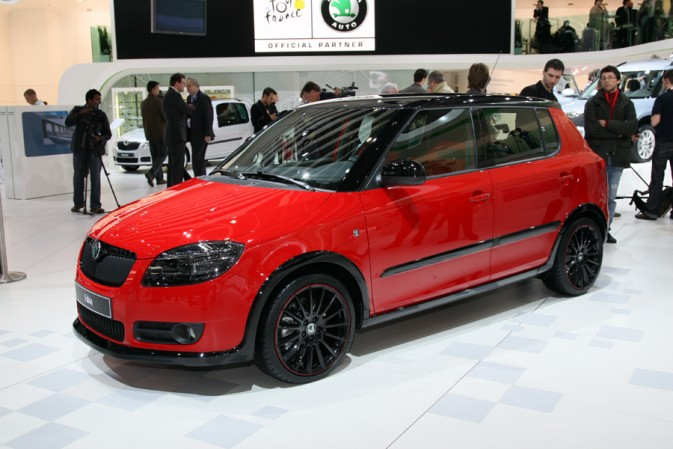 skoda fabia vrs previewed at geneva autoevolution. Black Bedroom Furniture Sets. Home Design Ideas