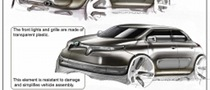 Skoda Felicia Sketches Released by Italian Student