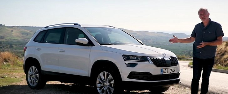 Skoda Karoq First Review Says It S A Great Family Car With
