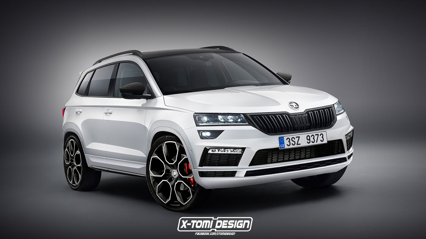 skoda karoq rs considered for production sportline model coming in 2018 autoevolution. Black Bedroom Furniture Sets. Home Design Ideas