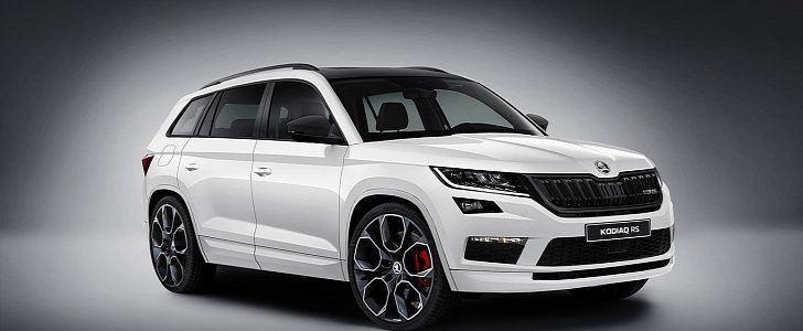 skoda kodiaq rs rendering looks so good that it 39 s depressing autoevolution. Black Bedroom Furniture Sets. Home Design Ideas