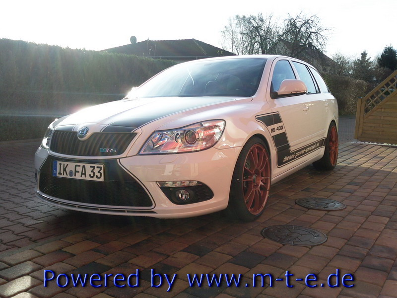 skoda octavia combi rs gets 451 hp - autoevolution