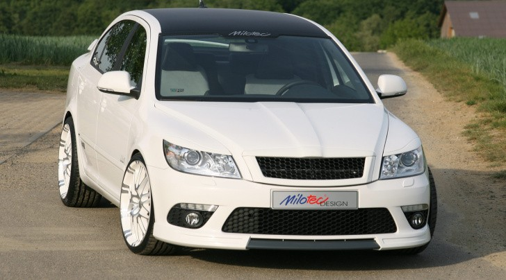 Skoda Octavia RS Tuned by Milotec