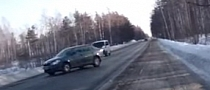 Skoda Octavia Unbelivable Crash [Video]
