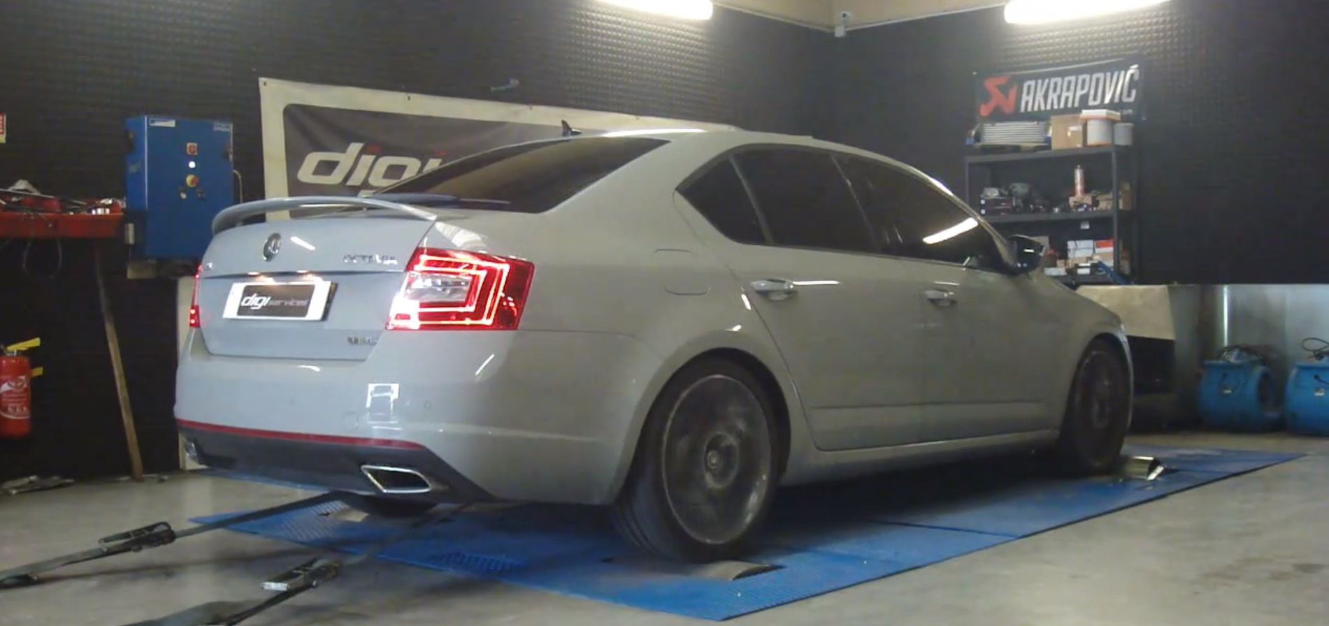 Skoda octavia vrs tdi chip tuned to over 220 hp by digiservices autoevolution