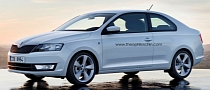 Skoda Rapid Coupe Coming in 2014