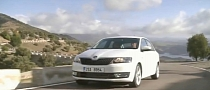 Skoda Rapid First Driving Scenes [Video]