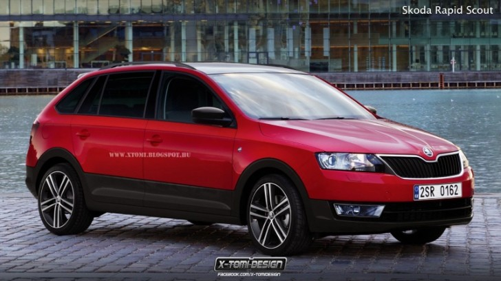 Skoda Rapid Scout Rendered. Should They Build It?