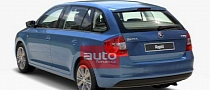 Skoda Rapid Spaceback Images Leaked via Configurator