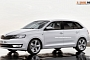 Skoda Rapid Spaceback Rendered