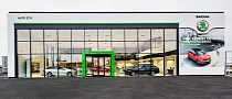 Skoda Reveals New Dealer Showroom Design [Photo Gallery]