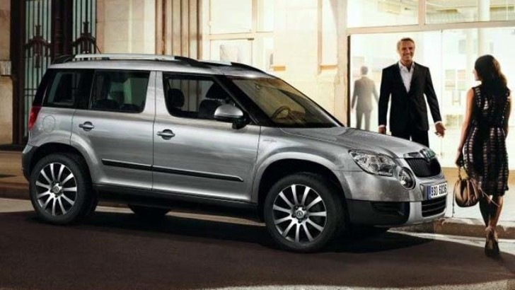 Skoda Reveals Yeti Laurin and Klement Edition