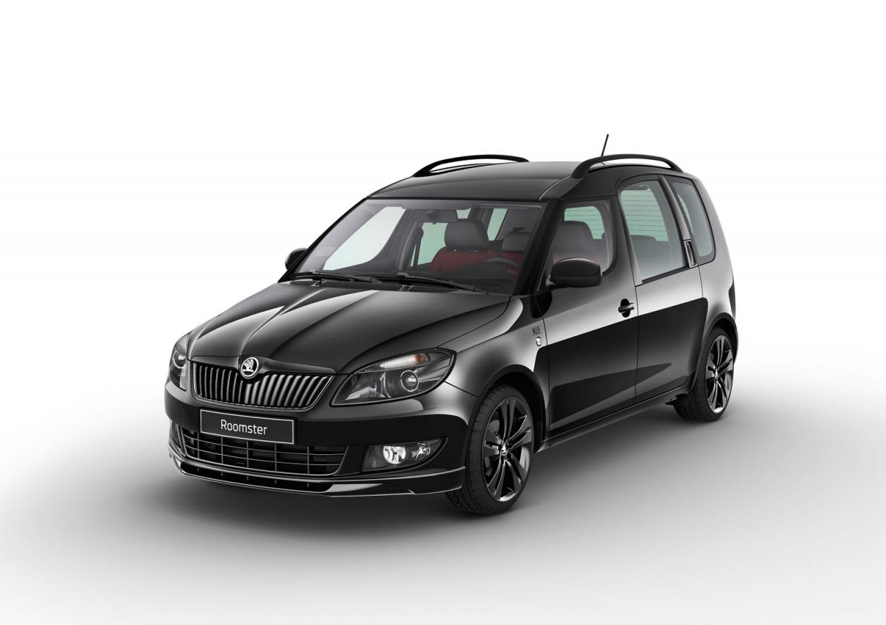 skoda roomster noire is not necessarily blacker than dark autoevolution. Black Bedroom Furniture Sets. Home Design Ideas