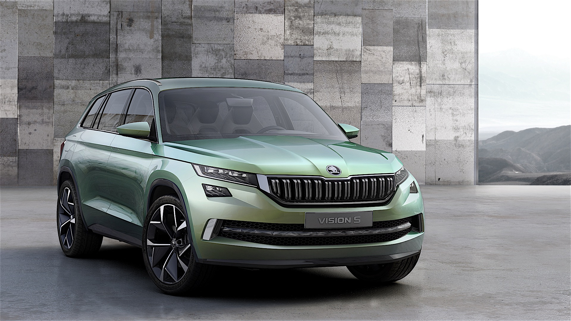 skoda showcases visions concept study it 39 s a plug in hybrid suv autoevolution. Black Bedroom Furniture Sets. Home Design Ideas