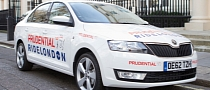 Skoda Sponsoring Prudential RideLondon Cycling Event