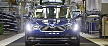 Skoda Superb Facelift Enters Production