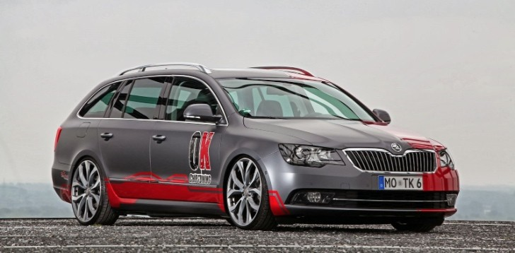 Skoda Superb Facelift Gets Cam Shaft Wrap and Tune for 2.0 TDI [Photo Gallery]