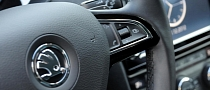 Skoda Teases All-New Octavia Interior