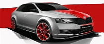 Skoda Teases New Rapid Sport Edition