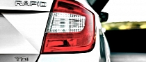 Skoda to Make Rapid Variant with Classic Hatchback Shape in 2013