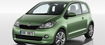 Skoda Unveils Citigo Based on Volkswagen Up!