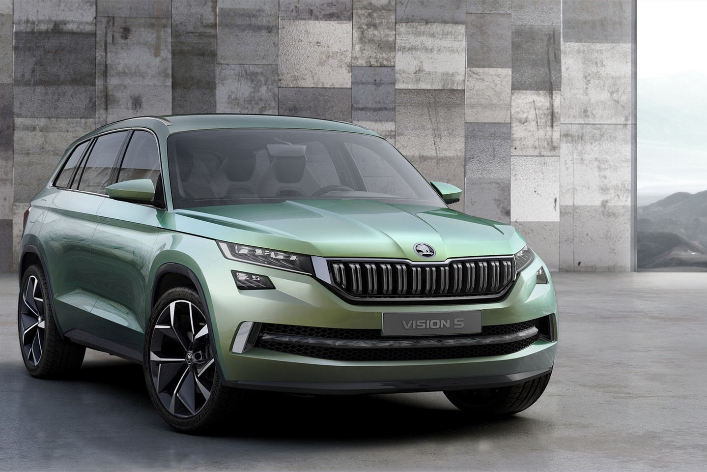 skoda visions concept previews 7 seater kodiak suv at geneva 2016 autoevolution. Black Bedroom Furniture Sets. Home Design Ideas