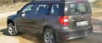 Skoda Yeti Does 4x4 Donuts [Video]