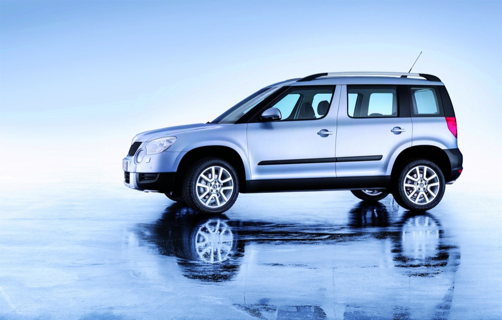 Skoda Yeti Up for Orders - autoevolution