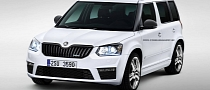 Skoda Yeti vRS Rendered