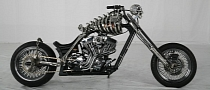Skull Rider, Chinese Custom Chopper [Photo Gallery]