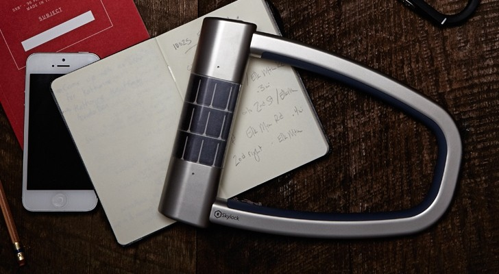 Smart Bike Lock >> Skylock, the Smart, Solar-Powered Bike Lock Should Get a Motorcycle Version - autoevolution