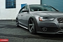 Slammed Audi A4 allroad on Vossen Wheels [Photo Gallery]