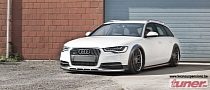 Slammed Audi A6 Allroad Looks Funny [Photo Gallery]