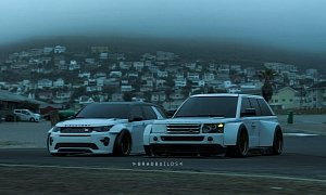 Slammed Range Rover And Discovery Sport Look Like The Future Race