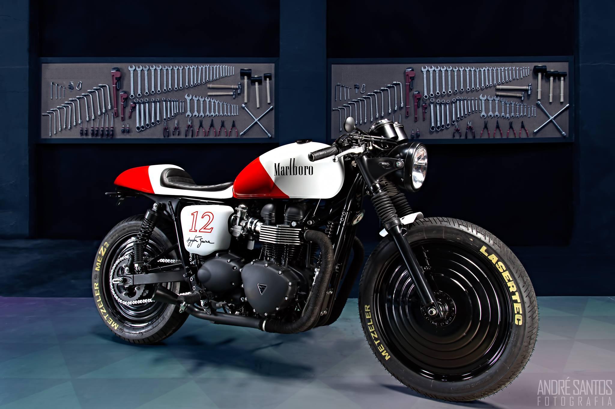 Cafe Racer Marlboro
