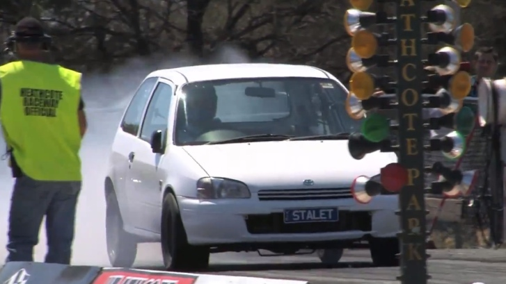 Sleeper 400 HP Toyota Starlet Back in Action - autoevolution