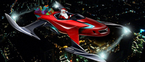 slEIGH-REV, Santa's New Ride